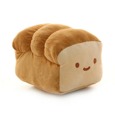 "Cotton Food Bread 37cm 14"" Cushion Pillow Plush Toy Doll"