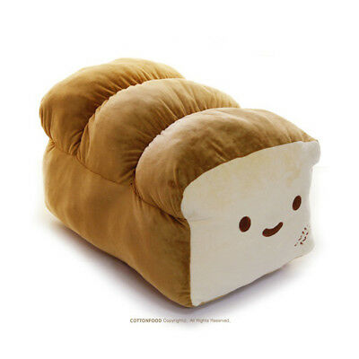"Cotton Food Bread Giant Size 70cm 27"" Cushion Pillow Plush Toy Doll"