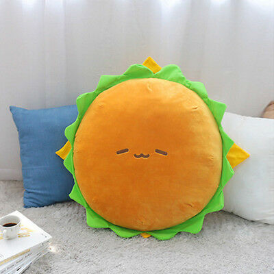 "Cotton Food Hamburger Big Size 60cm 24"" Character Pillow Cushion Plush Toy Doll"