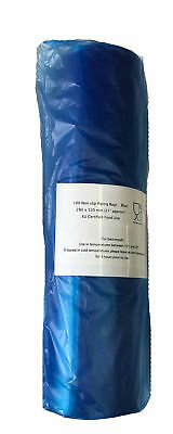 "DISPOSABLE Piping Bags MASH Savoy Icing Baking Cake Decorating Blue 21"" STICKY"