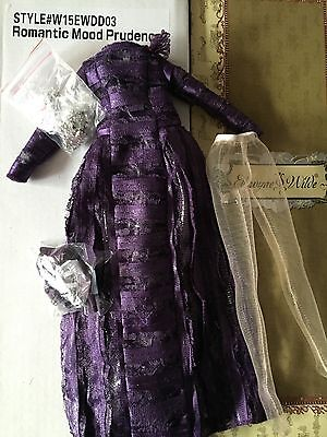 Tonner Ellowyne Wilde ~ Romantic Mood Prudence ~ complete OUTFIT ONLY - purple