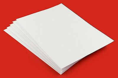 A2-A3-A4-A5-A6 Thick 450gsm - 500gsm Premium Smooth White Craft Card-Card Making