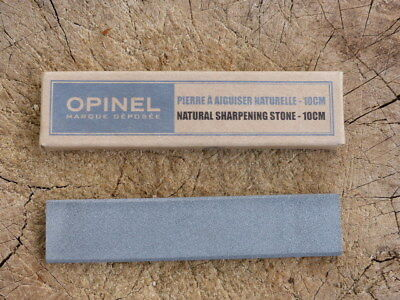 Opinel 10cm Pocket Natural Sharpening Stone Bushcraft Axe