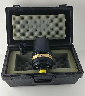 Vintage Celestron International C-90 (1000mm f/11) Mirror Lens W/ OEM Case.
