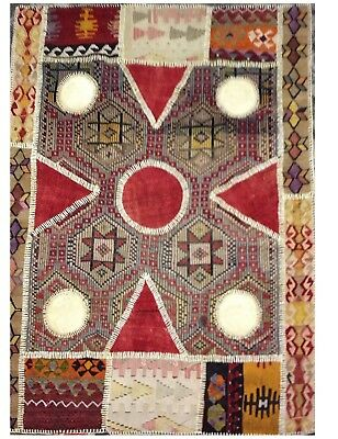 Antique KILIM Traditionnel Oriental hand made 108