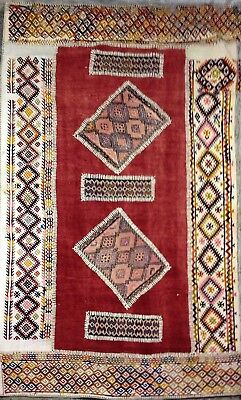 Antique KILIM Traditionnel Oriental hand made 111