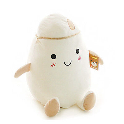 "Cotton Food Rice Big Size 43cm 17"" Cushion Pillow Plush Toy Doll"