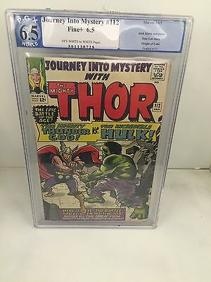 Journey Into Mystery With The Mighty Thor 112 Graded 6.5
