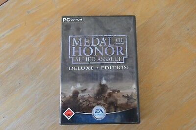 Medal of Honor, Allied Assault, Deluxe*Edition, 4er CD Box