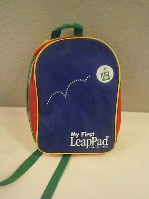 Leap Frog My First LeapPad Carry And Storage Backpack Only