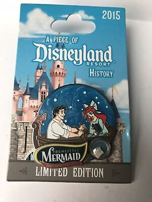 Disney Pin A Piece Of Disney History The Little Mermaid LE2000