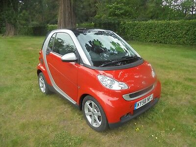 2008 58 Reg Smart For Two  Pulse Automatic Air Con No Reserve Vgc