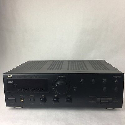 jvc rx 518v audio video control stereo receiver 49 99 picclick rh picclick com jvc rx 7000v manual JVC RX300