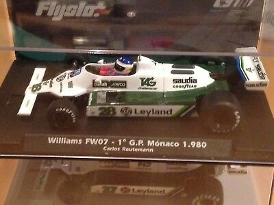 FLY SLOT Williams FW07 Carlos Reutemann, 1ST GP MONACO 1980, Art 055106