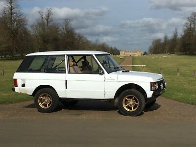 Range Rover classic 1977 hill rally, rally car, fast road Nostalgia Art!