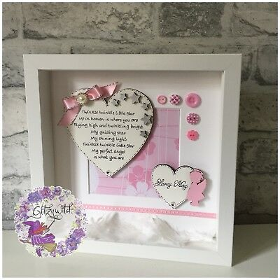ANGEL BABY, INFANT Loss, Miscarriage, Memorial Frame, Keepsake ...