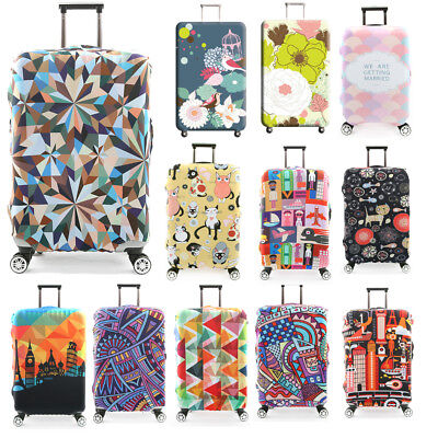 Elastic Luggage Cover Suitcase Protective Case Stretch Travel Trolley Protector