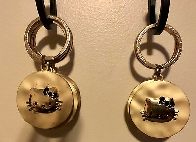 Gold Hello Kitty Keychains!