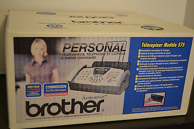 Brother FAX-575 Personal Fax Phone and Copier MODEL:FAX-575 NEW