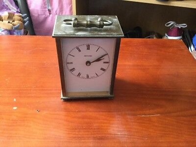 Metamec Carriage Clock Brass