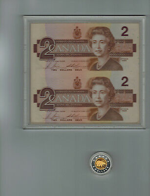 $2 1996 Special Edition Silver Piedfort Coin and Banknote Set