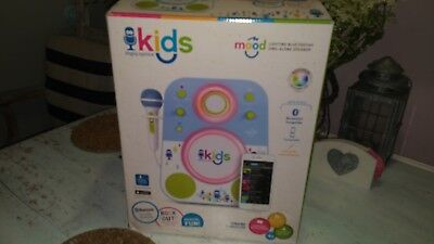Kids Mood Singing Machine SMK250PP Bluetooth Sing,Karaoke-for App compatible