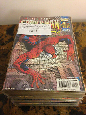 Peter Parker Spider-Man 1-57 + Full 8th day crossover + Annuals Marvel Comics