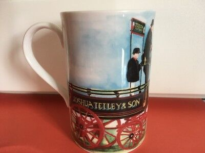 DUNOON~*Brewery Wharf*~for Tetley's Stoneware TALL MUG-Label Attached Unused-VGC