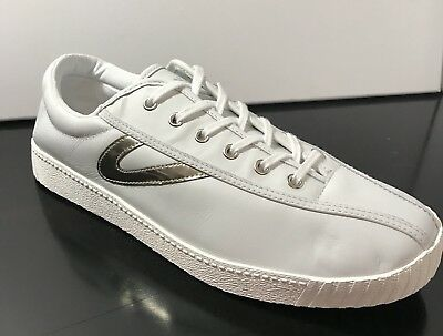 Women s Tretorn Nylite Plus2 Sneakers Tennis Shoes (11) Leather White Good  Deal 70e2f360069
