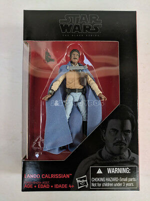 "Star Wars The Black Series Lando Calrissian 3.75"" Exclusive Action Figure - New"