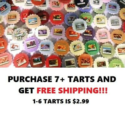 ☆☆Yankee Candle Wax Melt Tart Singles☆☆Must Buy 7 Or More For Free Shipping☆☆