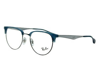 9976ec3b09 New Ray-Ban Rb 6396 2934 Blue Eyeglasses Authentic Frame Rx Rb6396 51-19
