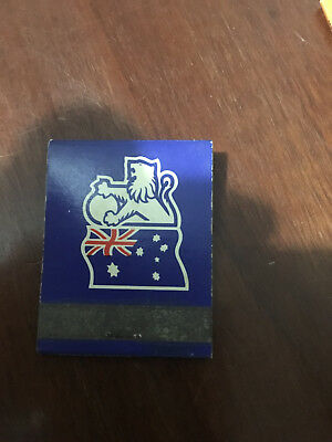 "Vintage Holden GMH Matchbook Matches Dealership Advertising ""RARE"""