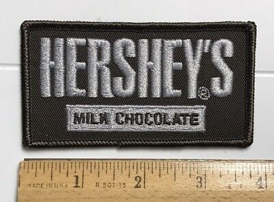 Hershey's Milk Chocolate Candy Bar Souvenir Embroidered Patch