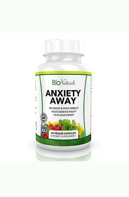 Anxiety Away Premium Anti Anxiety Stress Relief Supplement Essential Oil Blend