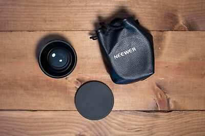 NEEWER Digital High Definition 0.45x Super Wide Angle Lense with Macro Japan Opc