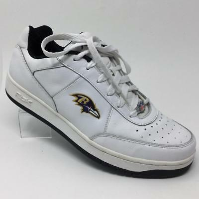 6afe33c468d RBK REEBOK NFL Baltimore Ravens Shoes Mens Size 12 Athletic Sneakers ...