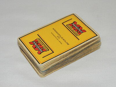 VINTAGE Minneapolis Moline Tractor  Advertising - Deck Playing Cards