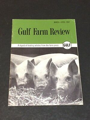 Gulf Farm Review March/April 1962 Booklet~Advertising