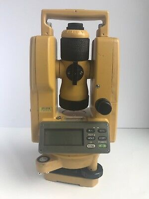 Topcon DT-209 Optical Digital Theodolite With Carrying Case DT-200