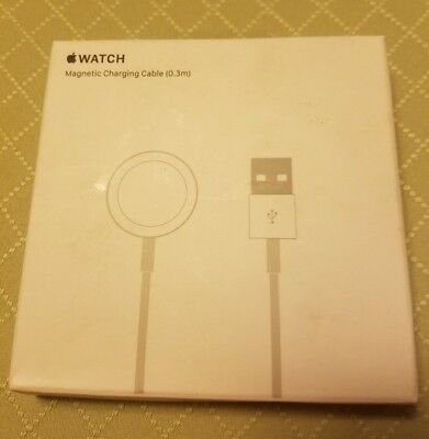 Genuine Apple Watch Magnetic Charging Cable ( 0.3 ) Mlla2Am/a New Open Package