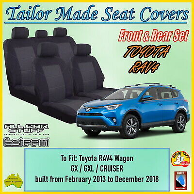 Tailor Made Seat Covers for Toyota RAV4 (RAV-4): ACA44R from 02/2013 to Current
