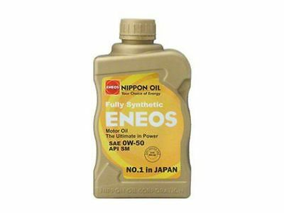 Eneos Synthetic Racing Engine Oil API SM 1Quart Bottle 0W50