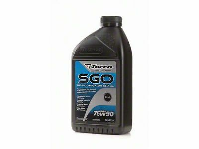 Torco SGO Racing Gear Oil 75w90 1Liter Bottle
