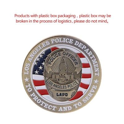 American Police Saint Michael Commemorative Coin Collection Arts Souvenir Gifts