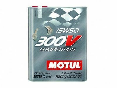Motul 300V Competition 15W50 Racing Motor Oil 2 Liter Can