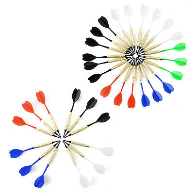 12/21 pcs Safety Dart Set - Arrows with soft rubber tips 100pcs Replacement