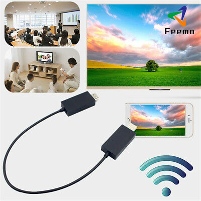 Wireless Display Adapter V2 Receiver HDMI And USB Port Simply plug For Microsoft