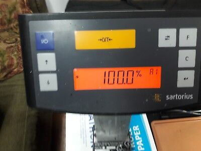 Sartorius PMA7500-X Explosion-Proof Paint Mixing Auto Shop Digital Scale