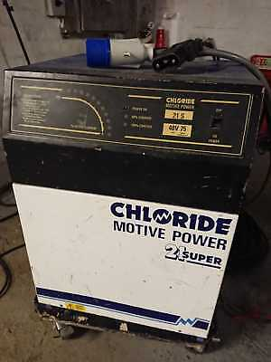 chloride motive power 48 volt fork lift truck battery charger 32a single phase
